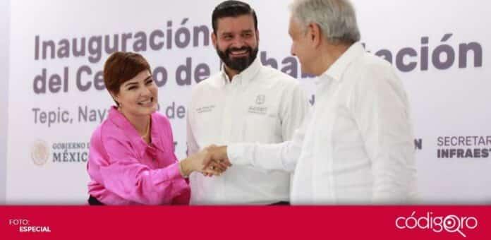 El presidente Andrés Manuel López Obrador invitará al gobernador de Nayarit a sumarse al Gobierno de México. Foto: Especial