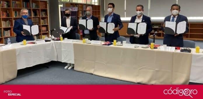 Querétaro, Aguascalientes, Jalisco, San Luis Potosí y Guanajuato conformaron la Alianza Estratégica por la Educación. Foto: Especial