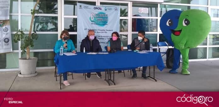 Realizaron la sexta carrera virtual familiar a favor de la donación de órganos y tejidos. Foto: Especial