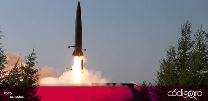 El régimen comunista de Corea del Norte disparó un proyectil no identificado. Foto: Especial