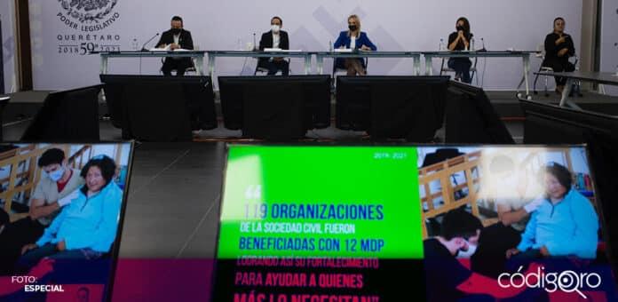 Los titulares de las Secretarías de Desarrollo Social y de la Juventud participaron en la glosa del Sexto Informe de Gobierno. Foto: Especial