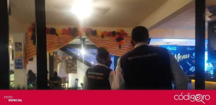 Las Unidades Especiales AntiCOVID-19 dispersaron 3 fiestas privadas en El Marqués y una en Querétaro. Foto: Especial