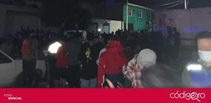 Más de 300 personas fueron dispersadas de una fiesta privada en la ciudad de Querétaro. Foto: Especial