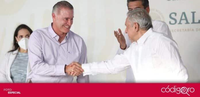 El presidente de México, Andrés Manuel López Obrador, nombró al gobernador de Sinaloa como nuevo embajador en España. Foto: Especial