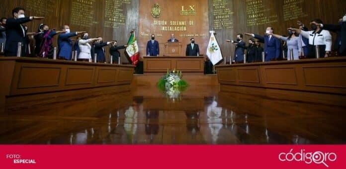 El gobernador de Querétaro, Francisco Domínguez Servién, acudió a la sesión solemne de instalación de la 60 Legislatura. Foto: Especial