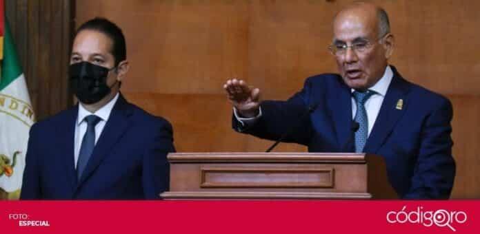 El gobernador Francisco Domínguez Servién explicó que el Congreso Local no ha enviado la reforma sobre matrimonio igualitario. Foto: Especial