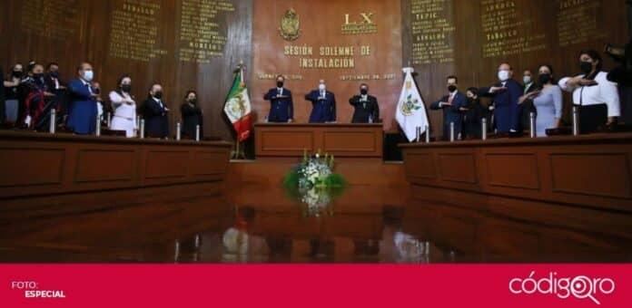 Fue instalada la 60 Legislatura del estado de Querétaro. Foto: Especial
