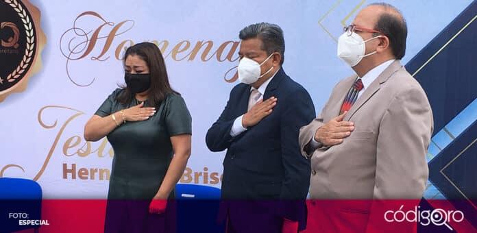 La Escuela Normal Superior del Estado de Querétaro llevará el nombre de Jesús Hernández Briseño. Foto: Especial