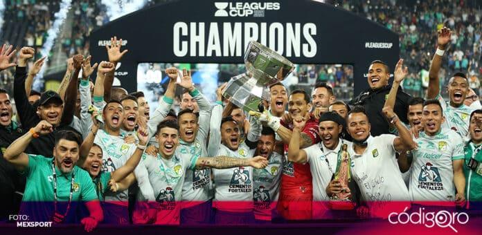 El Club León venció a los Sounders de Seattle y se coronó campeón de la Leagues Cup. Foto: Mexsport