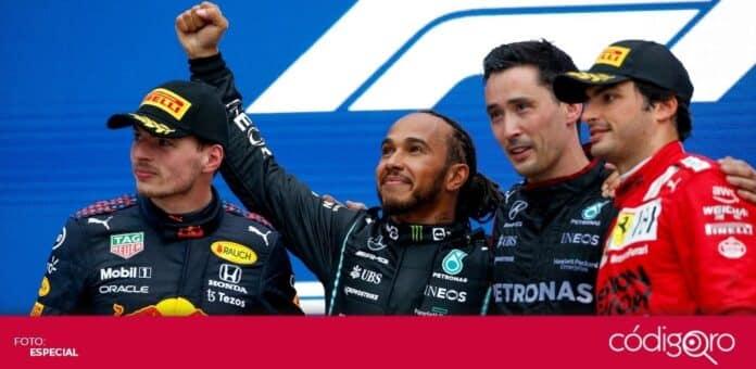 El piloto británico de Mercedes, Lewis Hamilton, logró 100 victorias en la Fórmula 1. Foto: Especial