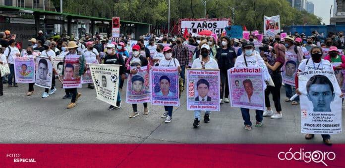 Se cumplen 7 años de la desaparición de los 43 normalistas de Ayotzinapa. Foto. Especial