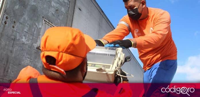 La Secretaría de Servicios Públicos Municipales de Querétaro recolectó 56 toneladas de residuos. Foto: Especial