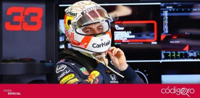 Max Verstappen, piloto neerlandés de Red Bull, fue sancionado también con 2 puntos en su licencia. Foto: Especial