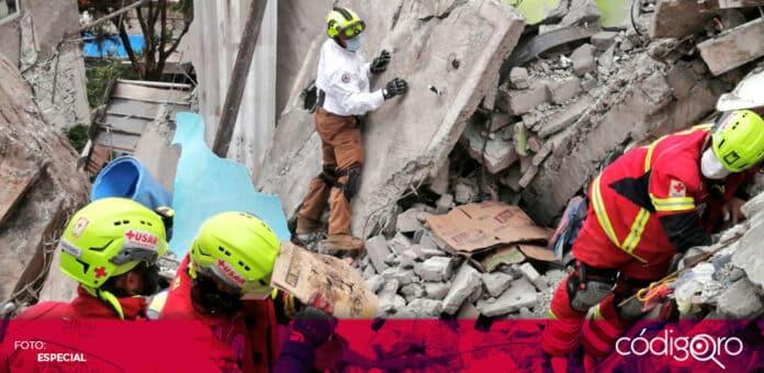 Fue encontrado el cuerpo de una menor de edad en la zona del deslave del Cerro del Chiquihuite. Foto: Especial