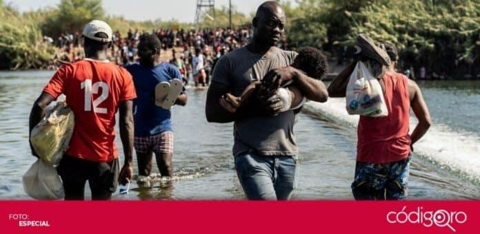 Miles de migrantes de Haití siguen en México para llegar a la frontera con Estados Unidos. Foto: Especial