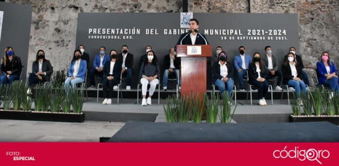 El presidente municipal de Corregidora, Roberto Sosa Pichardo, anunció a los integrantes de su gabinete para la administración 2021-2024. Foto: Especial