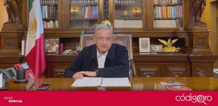 El presidente de México, Andrés Manuel López Obrador, informó que -hasta el momento- no hay daños como consecuencia del sismo de magnitud 7.1. Foto: Especial