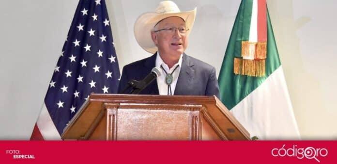 Ken Salazar, nuevo embajador de Estados Unidos en México, llegó a la Ciudad de México. Foto: Especial