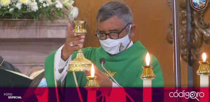 El obispo de la Diócesis de Querétaro, Fidencio López Plaza, fijó su postura sobre la aprobación del matrimonio igualitario. Foto: Especial