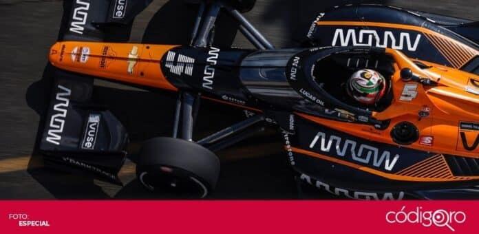 El piloto mexicano Patricio O'Ward terminó en el tercer lugar de la IndyCar Series. Foto: Especial