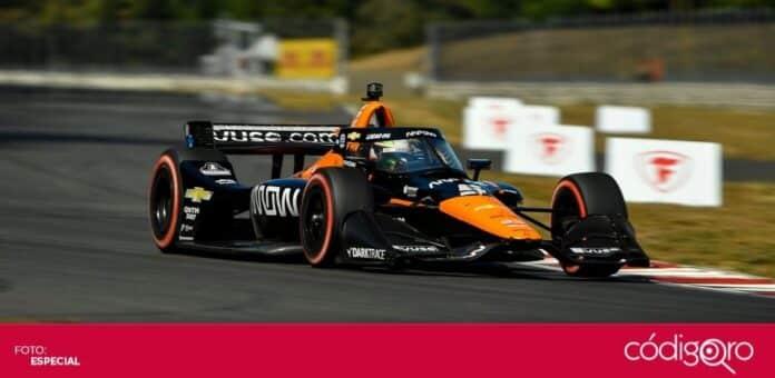 El piloto mexicano Patricio O'Ward peleará por el campeonato de la IndyCar Series. Foto: Especial