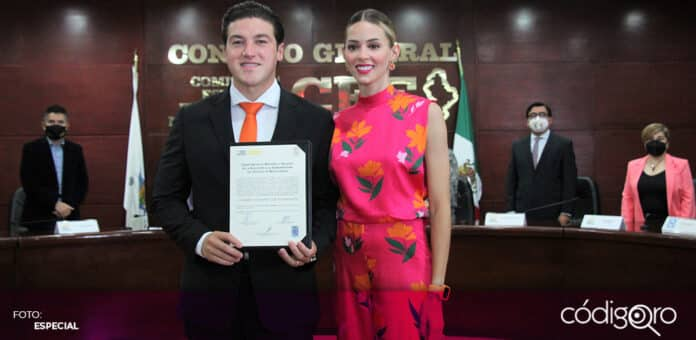 La Sala Superior del TEPJF revocó la multa del INE contra el gobernador electo de Nuevo León, Samuel García. Foto: Especial