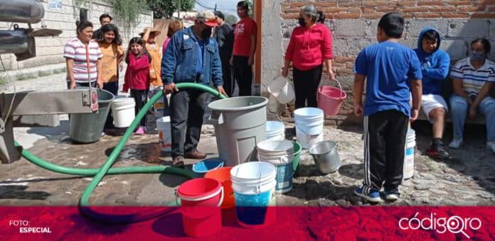 El municipio de Tequisquiapan registró daños materiales como consecuencia de las inundaciones. Foto: Especial