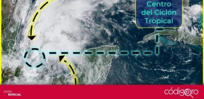 En las aguas del Golfo de México, se formó la tormenta tropical Nicholas. Foto: Especial