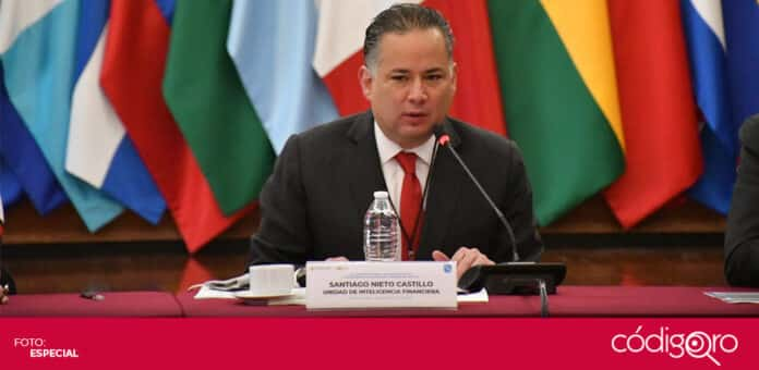 Santiago Nieto rechazó que la UIF investigue a universidades y académicos. Foto: Especial