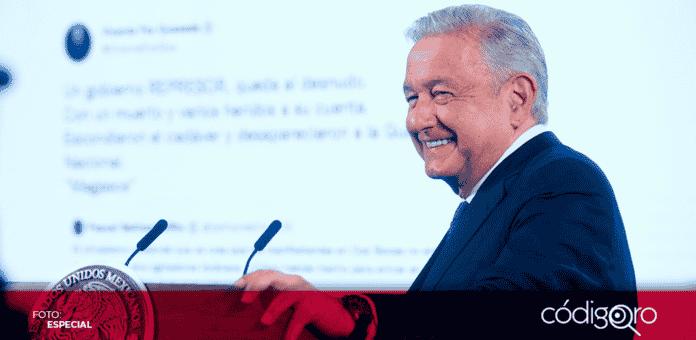 Andrés Manuel López Obrador afirmó que el Gobierno de la Cuarta Transformación mantendrá en 2022 la fórmula de austeridad