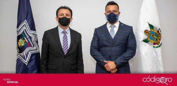 Miguel Ángel Contreras Álvarez asumió el cargo de secretario de Seguridad Ciudadana del estado de Querétaro. Foto: Especial
