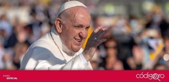 El papa Francisco criticó el gasto de los países en armamento mientas proclaman la paz. Foto: Especial