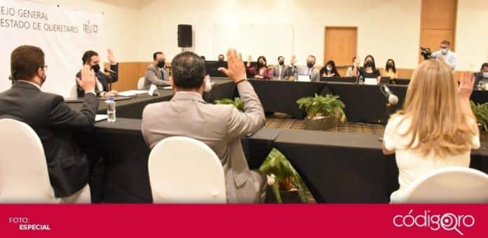 Gerardo Romero Altamirano concluyó su periodo como presidente del Consejo General del IEEQ. Foto: Especial