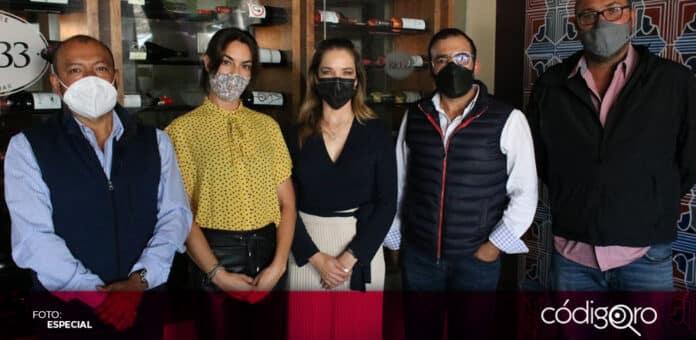 La secretaria de Turismo del estado de Querétaro, Mariela Morán, se reunió con empresarios del municipio de Tequisquiapan. Foto: Especial