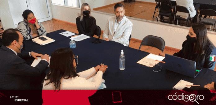 Durante la reunión la señora, Karla Yáñez Ortega, madre del menor, presentó a su único apoderado legal, Miguel Nava Alvarado