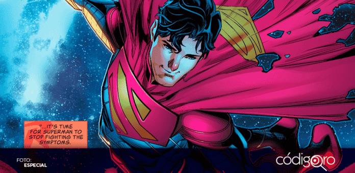 Jon Kent, que es hijo de Clark Kent y Lois Lane, es el personaje detrás de esta novedosa identidad de Superman