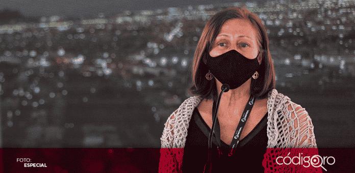 Tatiana Clouthier, esquivó tres preguntas relacionadas con la iniciativa de reforma al sector eléctrico de México
